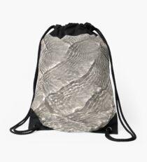 Rippling Drawstring Bag