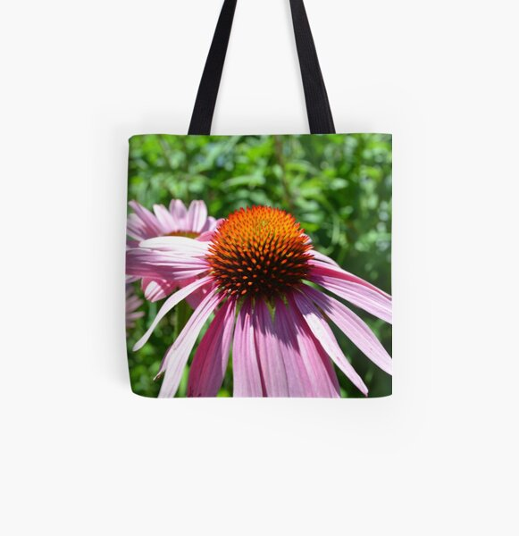 Summer Flowers All Over Print Tote Bag