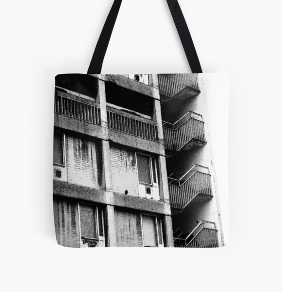 Bird 2 All Over Print Tote Bag