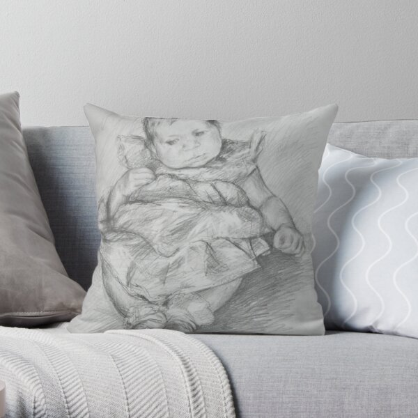 Anna Sophia Throw Pillow