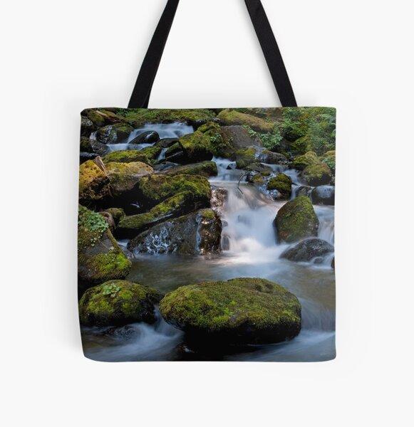 Below the Falls All Over Print Tote Bag