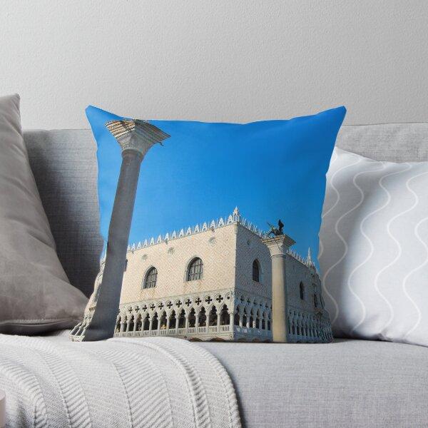 Doge's Palace, Venice Throw Pillow
