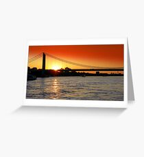 Cologne Sunset  Greeting Card