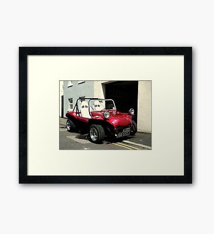 It's a RED one Framed Print