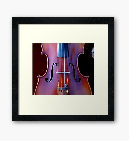 copy of Stradivarius 'Soil' 1714 © 2010 patricia vannucci  Framed Print