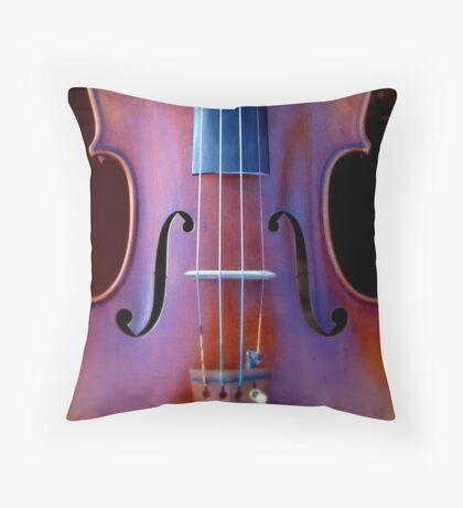 copy of Stradivarius 'Soil' 1714 © 2010 patricia vannucci  Throw Pillow