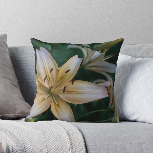 Asian Lily #1 Throw Pillow