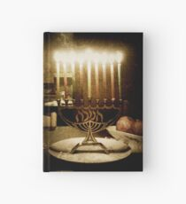 Menorah subtle  Hardcover Journal
