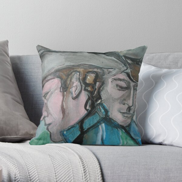 Brokeback Mountain Throw Pillow
