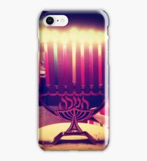 Colorful Menorah iPhone Case/Skin