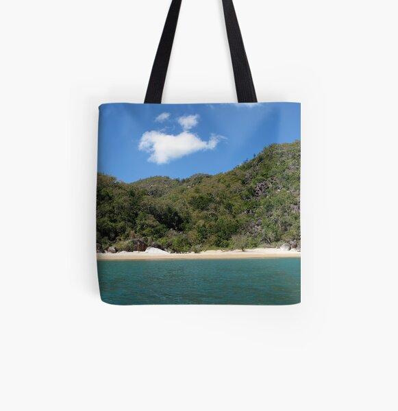 Sunset Cove IV All Over Print Tote Bag