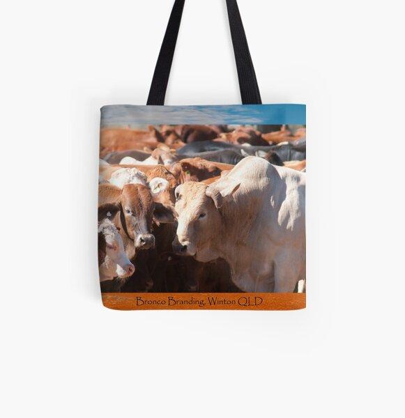 Bronco Branding, Winton All Over Print Tote Bag