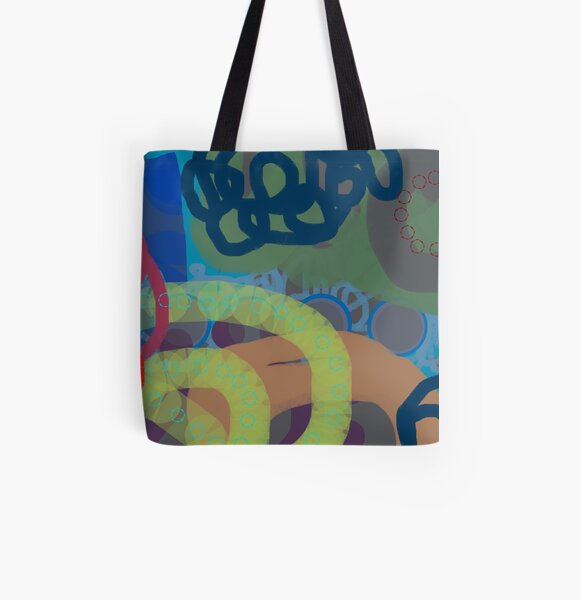Remix All Over Print Tote Bag