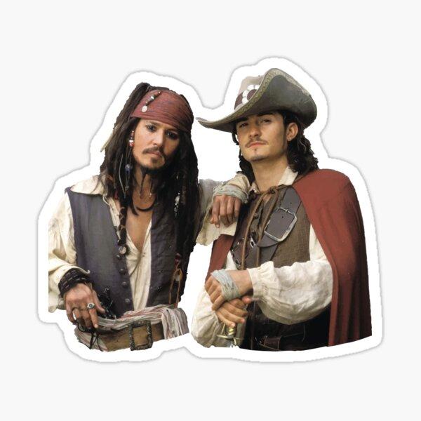 Jack y Will Pegatina
