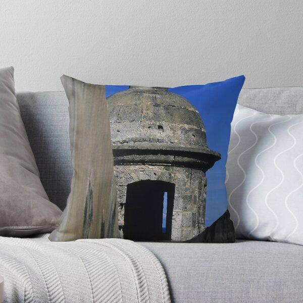 Fort San Cristobal - Puerto Rico Throw Pillow