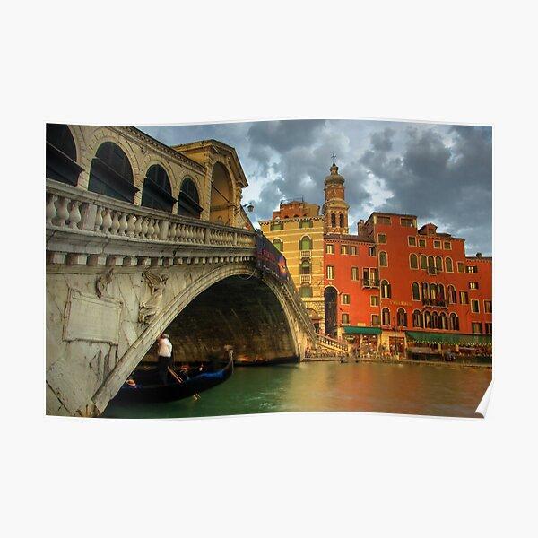 Rialto Bridge Poster