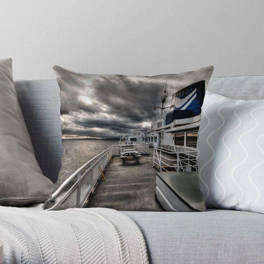 No Hands on Deck Throw Pillow