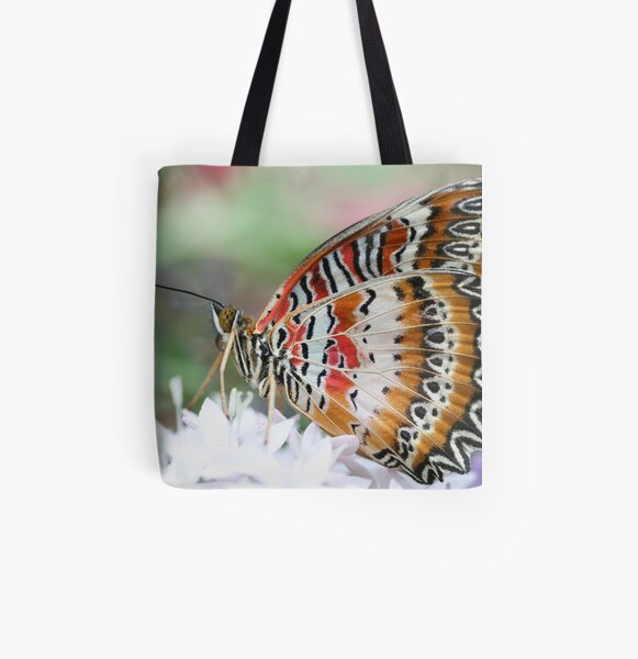 Zig Zag Fly All Over Print Tote Bag