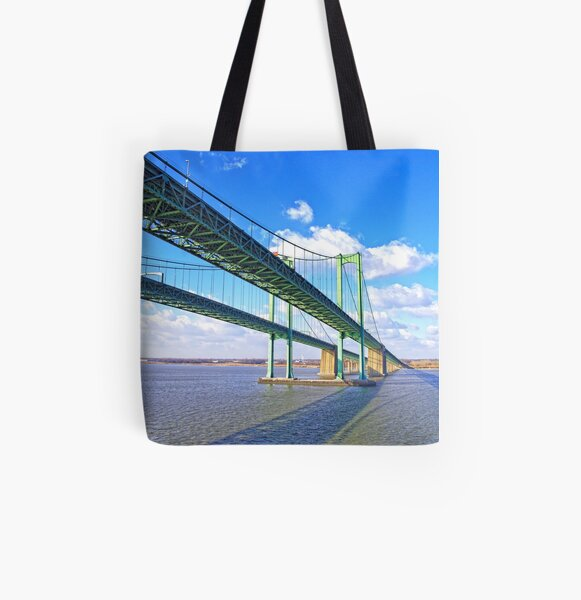Bridge To Tomorrow All Over Print Tote Bag