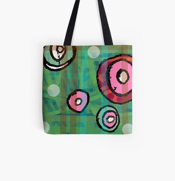 Lin All Over Print Tote Bag