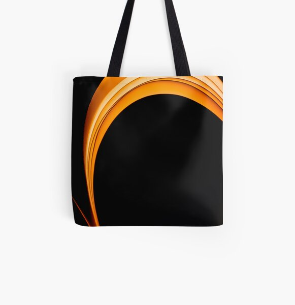 The Dark Curves All Over Print Tote Bag