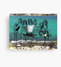 Sculptures by the sea - Bondi Canvas Print