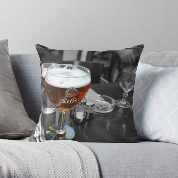 A Great Beer Throw Pillow