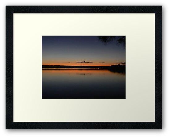 pastoralic sunset view - Paradise beach, Jervis Bay by Marius Brecher
