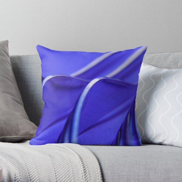 Kitchen Rhapsody: Fork Waves Throw Pillow