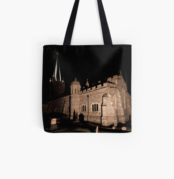 St Columbs Cathedral All Over Print Tote Bag