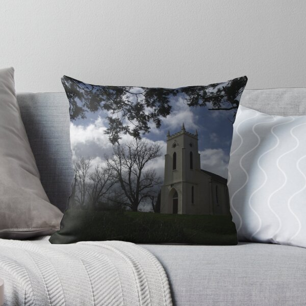 Church at Windemere - moody shot Throw Pillow