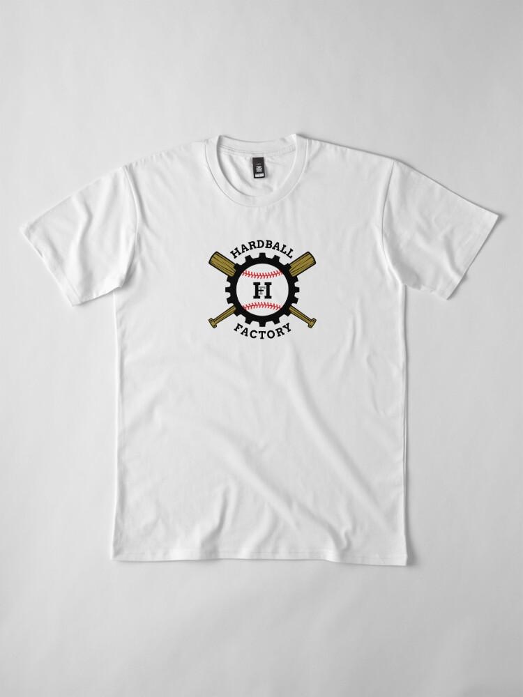 Alternate view of Hardball Factory Logo Premium T-Shirt