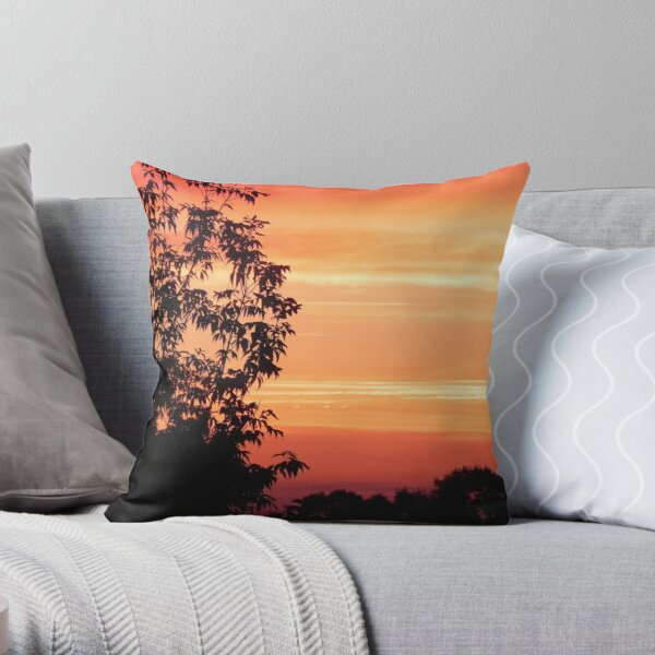 Nature's Paint Brush © Throw Pillow