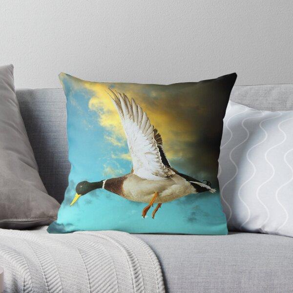 Duck Egg Blue Throw Pillow