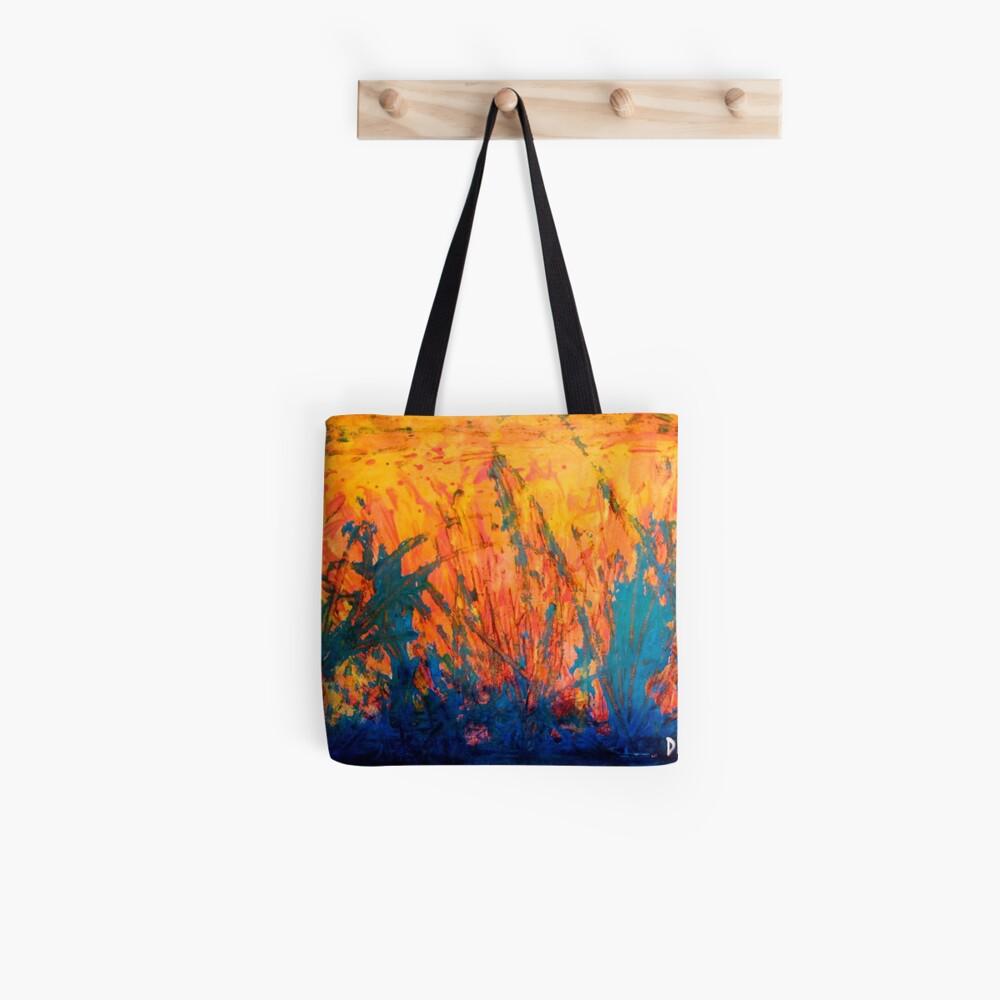 Fire And Rain Tote Bag