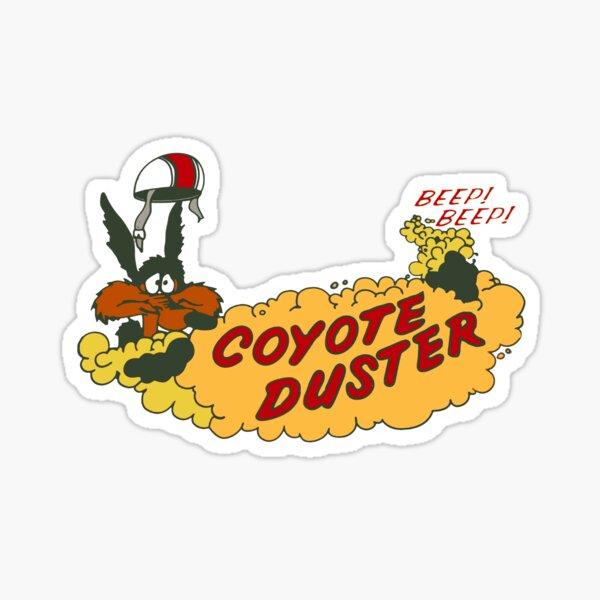 Coyote Duster Sticker