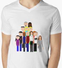 Characters Men's V-Neck T-Shirt
