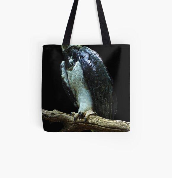 Harpy Eagle All Over Print Tote Bag