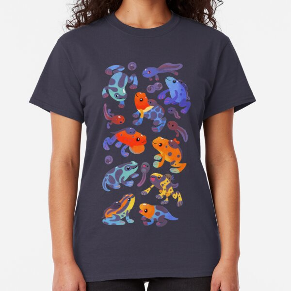 Poison dart frogs - dark Classic T-Shirt