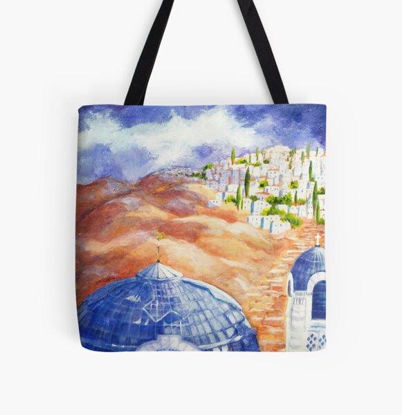 Faith Journey All Over Print Tote Bag