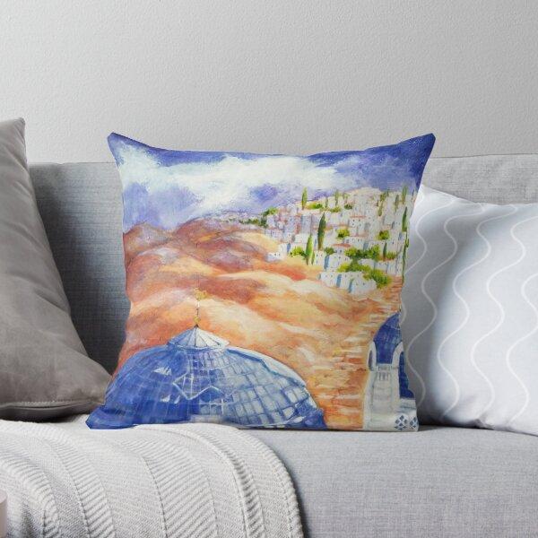 Faith Journey Throw Pillow