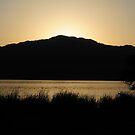 Lake Jipe late afternoon by Paulo van Breugel
