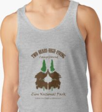 Two-Bears High Fiving Campground Tank Top
