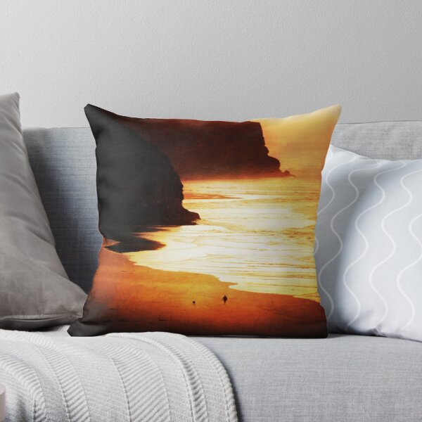 Time and Tide- part 2 Throw Pillow