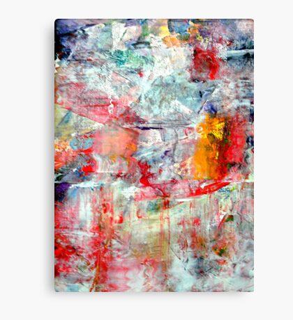 Landscape melting into Lake Canvas Print