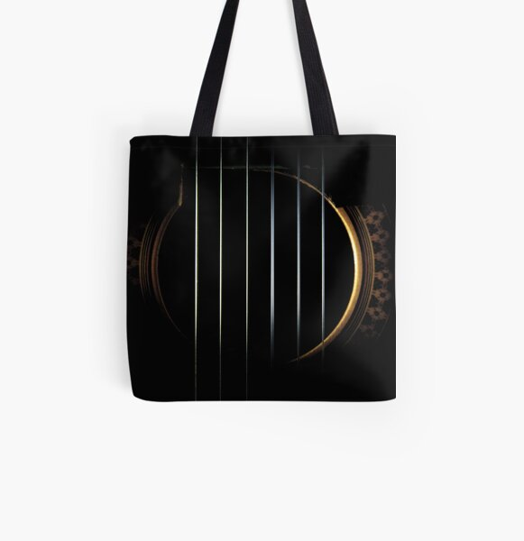Strings All Over Print Tote Bag