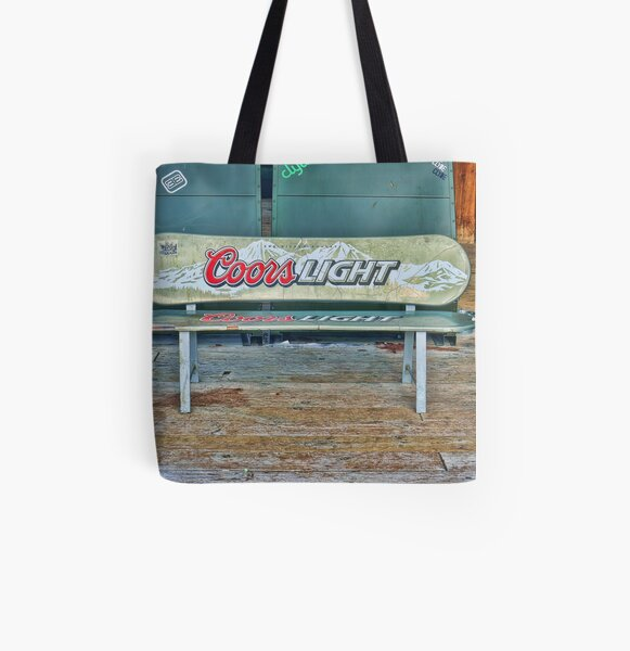 Coors Light All Over Print Tote Bag