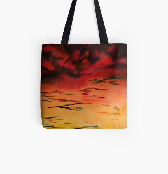 Tropical  Storm 3 All Over Print Tote Bag