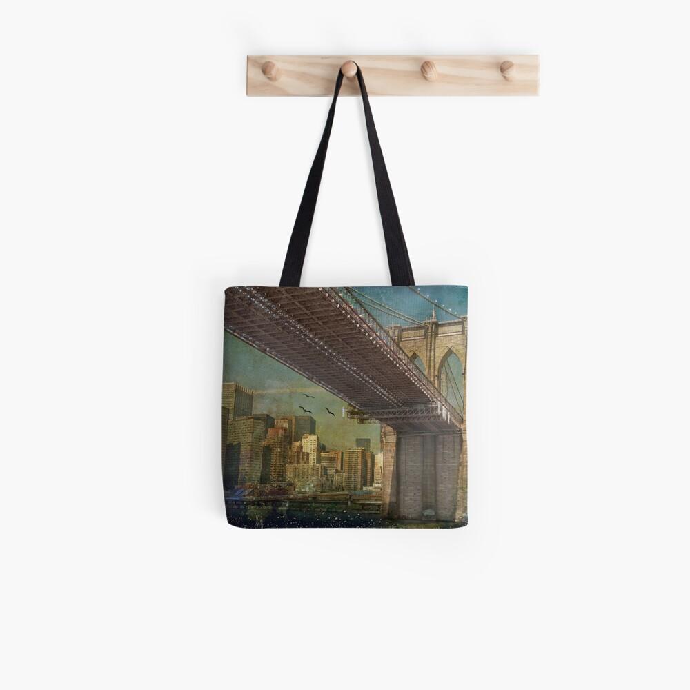 Brooklyn Bridge Stofftasche