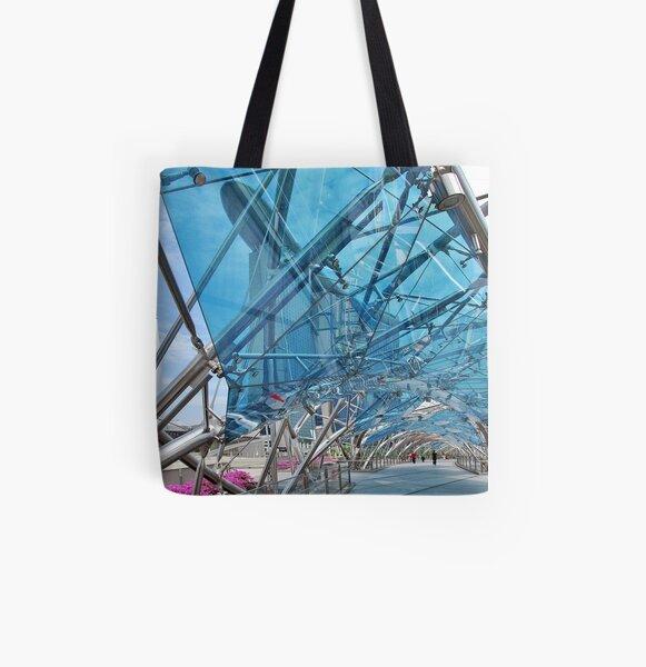 The Helix Bridge 5 All Over Print Tote Bag